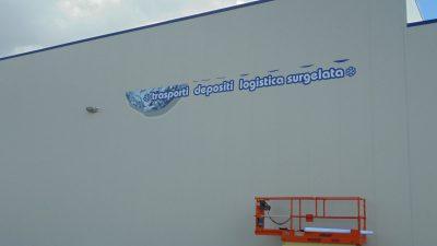 Logo su facciata edificio