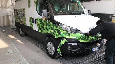 Decorazione furgone Hortec