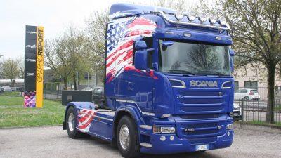 Decorazione camion USA