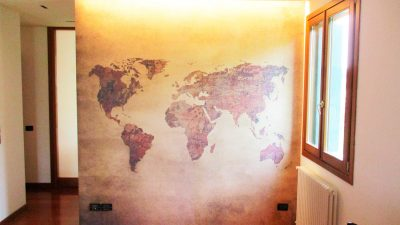 Tattoowall in abitazione privata