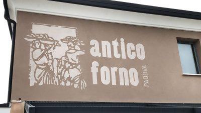 Tattoowall per Pasticceria Caffetteria Antico Forno